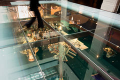 Model of Sydney under glass floor - 15 May, 2010 Royalty Free Stock Image