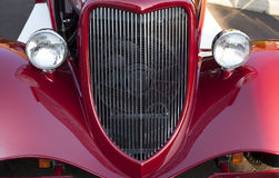 Model T headlights and grill Stock Images
