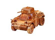 Model Tank. Stock Photo