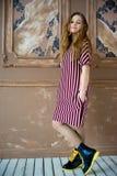 model teen för flicka Arkivfoto