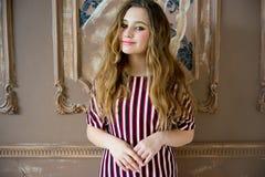 model teen för flicka Arkivfoton