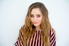 model teen för flicka Fotografering för Bildbyråer