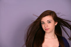 model teen för flicka Arkivbild