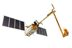 Model of Telecommunication Satellite Stock Image