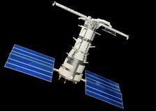 Model of Telecommunication Satellite Royalty Free Stock Photos