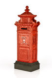 Model of Thai style post box Stock Photos