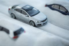 Model toy car Stock Photography