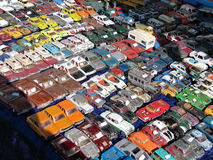 Model toy cars collection Royalty Free Stock Images