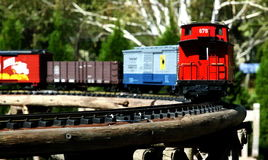 Model train Royalty Free Stock Photo