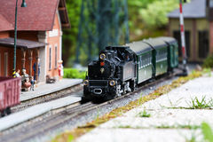 Model train Royalty Free Stock Photos