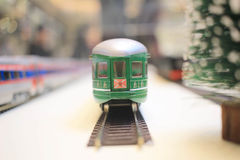 model train Stock Photography