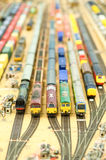 Model train collection Stock Photo