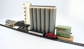 Model trains. A very detailed Model train stock images