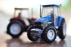model traktor Fotografering för Bildbyråer