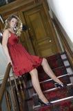 model trappa Royaltyfri Foto