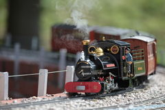Model trein 1 Stock Foto's