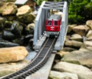 Model Trein stock afbeelding