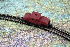 Model treinen Royalty-vrije Stock Afbeeldingen