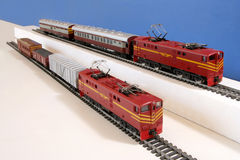 Model Treinen royalty-vrije stock foto