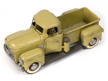 Model truck. Model of ancient truck made with tinplate Royalty Free Stock Images