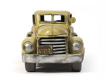 Model truck. Model of ancient truck made with tinplate Stock Image