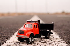 Model of the Truck Stock Images
