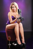 Model turned photographer Stock Photos