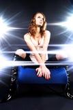 model världsstjärna för glamour Royaltyfri Fotografi
