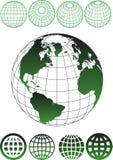Model van Aarde Stock Foto