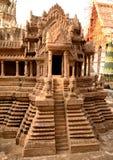 Model van Angkor stock foto