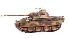 Model van de tank van de Panter Stock Afbeeldingen