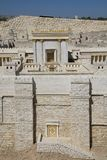Model van de Tweede Tempel, het Museum van Israël Royalty-vrije Stock Foto