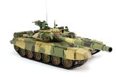 Model van een moderne Russische t-90A Stock Foto's