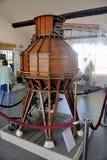 Model van een zoute silo Stock Foto's