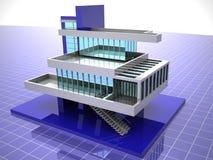 Model van huis Stock Foto