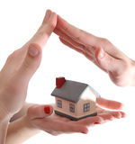 Model van huis Stock Foto's