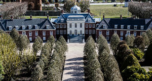 Model van Huis ten Bosch - Madurodam, Den Haag, Nederland Stock Afbeelding