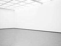 Model van leeg wit binnenland 3d geef terug Stock Foto