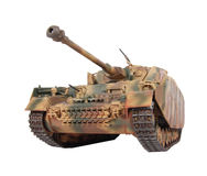 Model van pz-Iv tank Stock Foto's