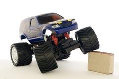 Model van snelheidsauto Stock Afbeelding