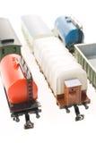 Model van spoorweg Stock Foto