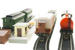 Model van spoorweg Royalty-vrije Stock Fotografie