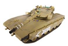 Model van tank Merkava Royalty-vrije Stock Foto