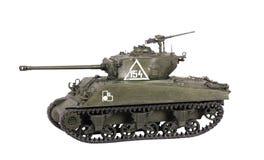 Model van tank Sherman Stock Foto