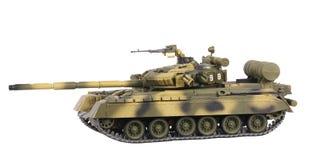 Model van tank t-80 Stock Foto