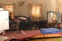 Model van woonkamer Stock Afbeeldingen