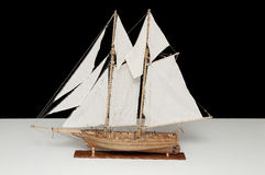 Model of vessel Royalty Free Stock Photography