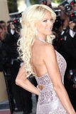 Model Victoria Silvstedt. CANNES, FRANCE - MAY 16: Model Victoria Silvstedt attends 'The Tree Of Life' premiere during the 64th Annual Cannes Film Festival at stock photography
