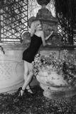 Model in Villa Royalty Free Stock Photo