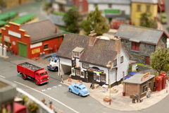 Model village Royalty Free Stock Photo